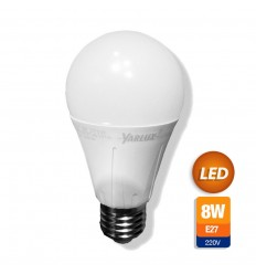 Lampara Yarlux Led 8w Calida