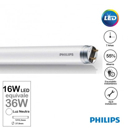 Tubo Philips Led 16w Neutro 1200mm